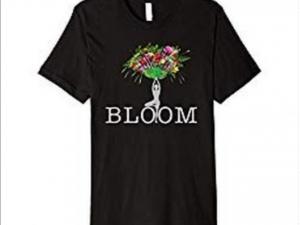 Blooming Yoga Tree Pose Tshirt