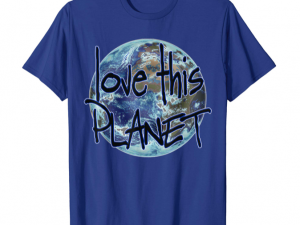 love this Planet t-shirt