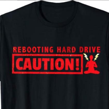 Rebooting Hard Drive