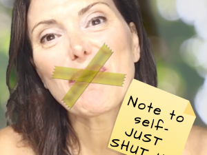 YOU SHOULD JUST SHUT UP – you will find out why the law of attraction is not working