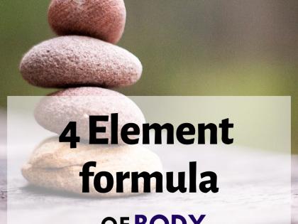 4 Element Formula of BODY ILLUMINATION