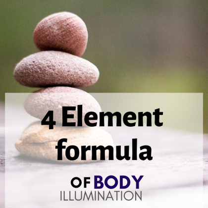 4 Element Formula of BODY ILLUMINATION