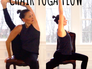 20 minute CHAIR YOGA amazing FLOW