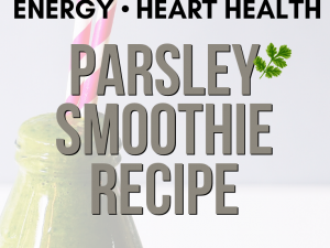 Parsley Green Smoothie Recipe