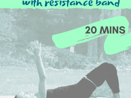PILATES Resistance Band Repertoire 20minutes – Body Illumination with Rebekah