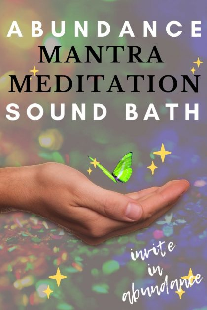 ABUNDANCE Mantra CHANT & MEDITATION  – OM SHRIM MAHA LAKSHMIYEI SWAHA, Body Illumination #ommantra