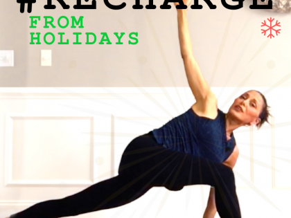 SLOW FLOW YOGA TO RECHARGE with YIN POSES
