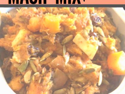 Butternut Squash, Sweet Potato, Pumpkin Super Mash Recipe – Vegan, Plant-based