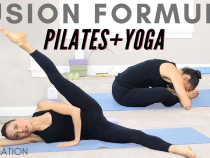 Pilates Yoga FUSION – Yogilates Full Body Fusion Fitness 35 minutes