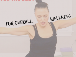 Pilates for Wellness with Positive Affirmations for the body