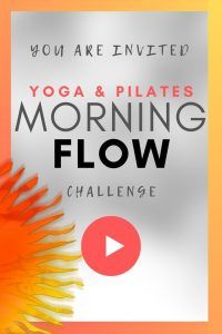 morning yoga and pilates flow series