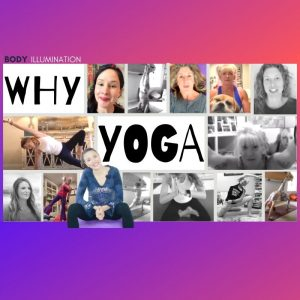 Why do People do yoga video