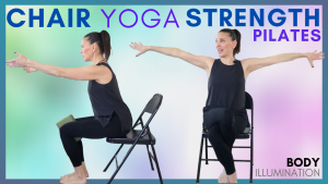 Senior Chair yoga strength